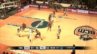BCM Gravelines - BC Prievidza 95:98 (FIBA Europe Cup)