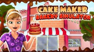"Cake Maker Bakery Simulator ""Free Preschool Educational Apps"" Android Gameplay Video"