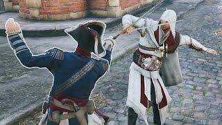 Assassin's Creed Unity Master Assassin Ezio Combat & Sword Duels