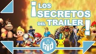 TODO SOBRE Super Smash Bros Nintendo Switch -  PERSONAJES OCULTOS en el trailer   N Deluxe