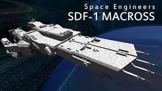 Space Engineers SDF-1 Macross DYRL Robotech