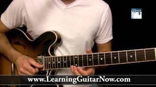 Slow Blues Guitar Lesson