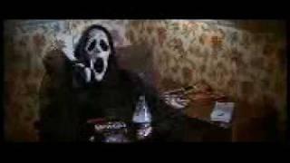 Scary movie bella sborrata sul muro dialetto veneto (veneziano padovano non so)