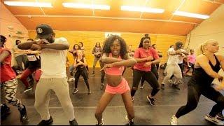 Shatta Wale X DJ Flex - Chop Kiss - DANCE MASTERCLASS by Sherrie Silver and Ghana Boyz