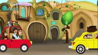 Animation about Sizdah-Bedar / انیمیشن شاد درباره سیزده بدر