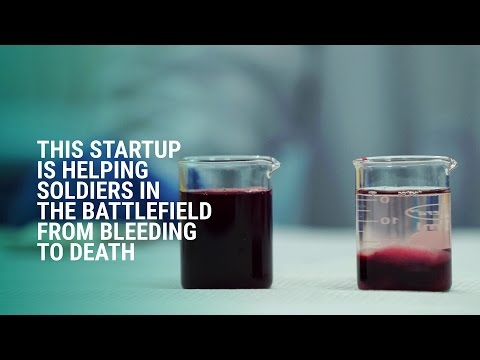 Axiostat is helping soldiers in the battlefield from bleeding to death