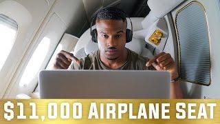 THE $11,000 FIRST CLASS FLIGHT SEAT