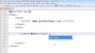 170. label tag in HTML (Hindi)