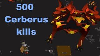 500 Cerberus kills (hellhound boss)