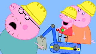 Peppa Pig Official Channel | Peppa Pig Goes to Digger World! Parents