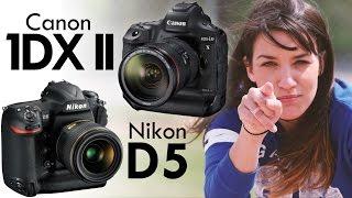 Canon 1DX Mk II vs Nikon D5 Review: SPORTS & WILDLIFE CAMERAS!