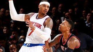 Damian Lillard Explains WHY He Wants Carmelo Anthony on the Blazers