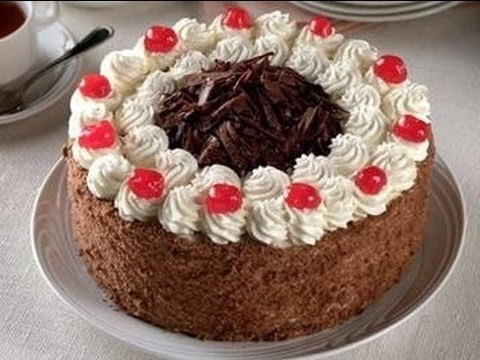 Receta Torta Selva Negra Casera Facil Y Deliciosa Silvana Cocina Y Manualidades