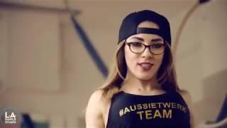 Cardi B Bodak Yellow Twerk Freestyle by DHQ Kris Moskov from AussieTwerk 1