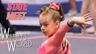 Whitney Bjerken | Level 8 State Gymnastics Meet | Beam Champion