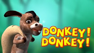 Donkey Song - Nursery Rhymes for Children
