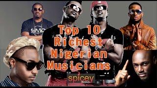 Top 10 Richest Nigerian Musician and Their Net Worth (2017)