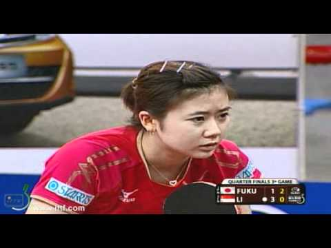 2012 World Tour Brazil Open. Quarter Finals FUKUHARA Ai JPN vs LI Jiawei SIN