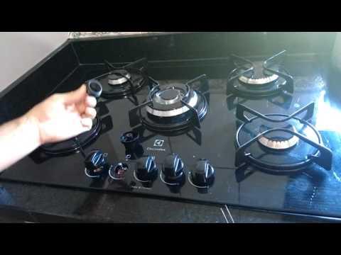 Problema no acendedor do fogão coocktop electrolux tripla chama.