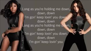 Fifth Harmony - Down (Lyrics)