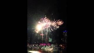 Riverfire 2012 Fireworks in Slow Motion 60fps 10