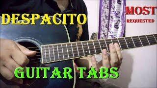 Despacito Guitar Tabs Lesson | Justin Bieber, Luis Fonsi, Daddy Yankee