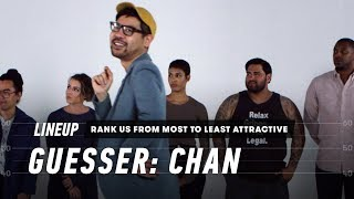 Rank a Group of Strangers from Most to Least Attractive (Chan)   Lineup   Cut