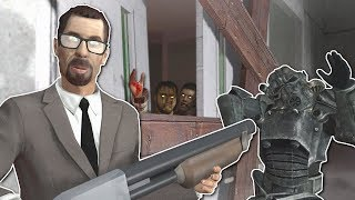 ZOMBIE SURVIVAL IN CREEPY HOSPITAL? - Garry's Mod Gameplay - Gmod Zombie Survival