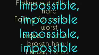 Impossible by Shontelle Lyrics