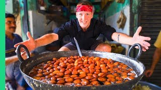 DEADLY Indian JUNK FOOD! The MOST Sweet, Greasy, Yummy Punjabi Street Foods!