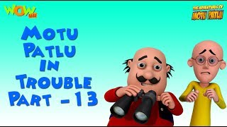 Motu Patlu in Trouble - Compilation Part 13 - As seen on Nickelodeon