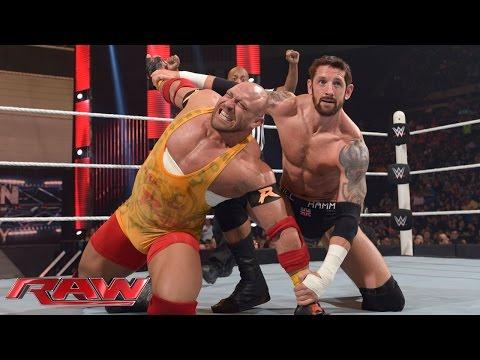 Ryback vs. King Barrett: Raw, May 25, 2015