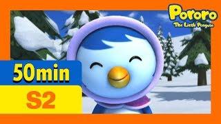 [Pororo S2] Full episodes S2 #1 - #10 (50min) | Kids Animation | Pororo the Little Penguin