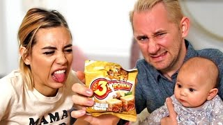PIGS FEET FLAVOR?!   Americans Try Russian Snacks!