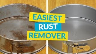 How to Remove Rust in Under a Minute