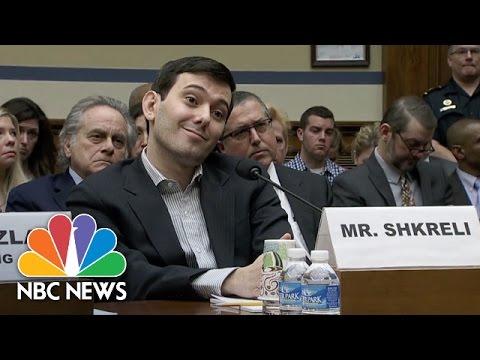Martin Shkreli Testifies Before Congress and Annoys Congressmen NBC News