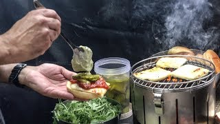 Halloumi Burgers, Halloumi Fries. Inventive Street Food seen in London