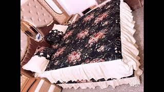 موديلات فرشات نزلات سرير عراقية رائعة للخياطة