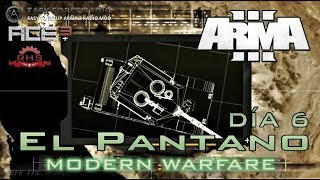 [ArmA 3](COD4-MW) Día 6 - JABALÍ - Coop.35 Gameplay en Español [1080p60 Ultra] En Directo