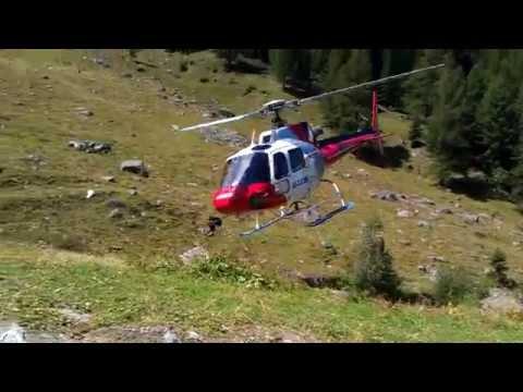HB-XQJ take off in Vallon de Réchy