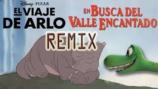 EN BUSCA DEL VALLE ENCANTADO remix EL VIAJE DE ARLO