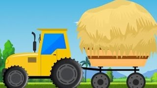 kids tractor | videos for children | cartoons about cars