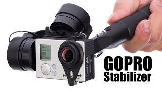 Handheld Gimbal Stabilizer for GOPRO 3+ by HeliPal.com