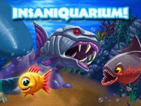 Best Childhood Game Insaniquarium. Best Fish Game EVER