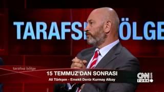 Koramiral Kadir Sağdıç, Tümamiral Semih Çetin, Albay Ali Türkşen 26 Temmuz 2016 Tarafsız Bölge