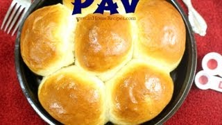 Pav Bread Recipe For Pav Bhaji - Hindi with Eng subtitles - inHouseRecipes