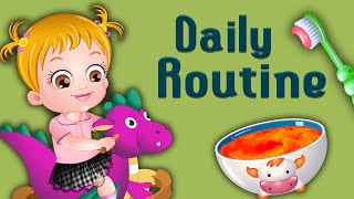 Baby Hazel Games | A Day in the Life of Baby Hazel | Fun Game Videos For Kids