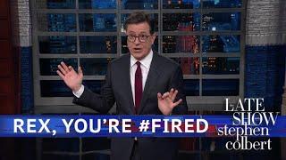 Rex Tillerson Got Fired Via Twitter