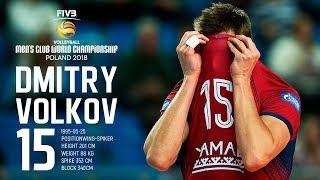 Dmitry Volkov   Best Outside Spiker   FIVB Men CWCH 2018
