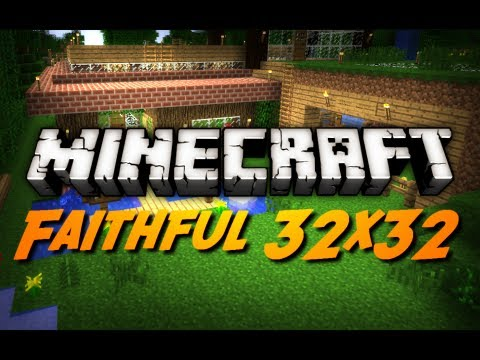 Minecraft Faithful 32x32 Texture Pack HD Font Overview